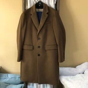 Wool/Cashmere Burberry Coat